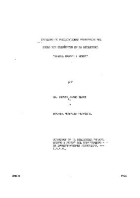 Catálogo de publicaciones periódicas del siglo XIX, existentes en la Biblioteca