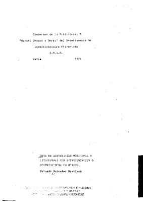 Guía de editoriales mexicanas y extranjeras con representación o distribuidora en México