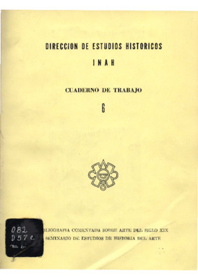 Bibliografía comentada sobre arte del siglo XIX