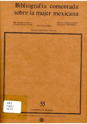 Bibliografía comentada sobre la mujer mexicana