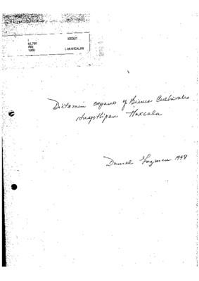 Dictamen órgano y bienes culturales, Hueyotlipan, Tlaxcala