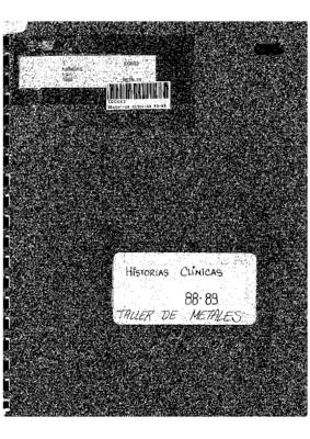 Historias Clínicas 88-89