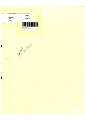 Anteproyecto para la restauración y conservación de las planchas de grabado calcográfico pertenecientes a la Academia Nacional de Artes Plásticas de San Carlos