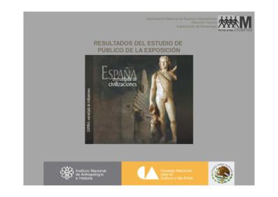 Resultados del estudio de público de la exposición temporal España encrucijada de civilizaciones