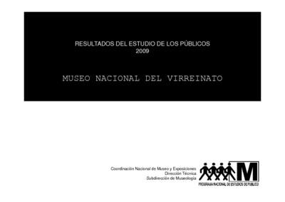 Resultados del estudio de los públicos 2009