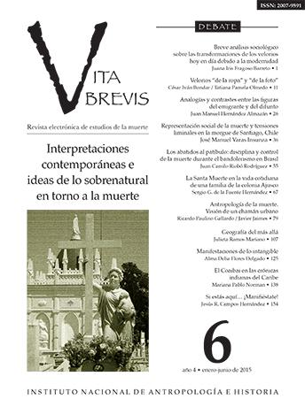 Vita Brevis Num. 6 (2015) Interpretaciones contemporáneas e ideas de lo sobrenatural en torno a la muerte