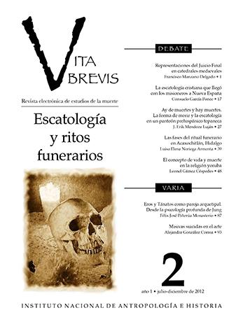 Vita Brevis Num. 2 (2012) Escatología y ritos funerarios
