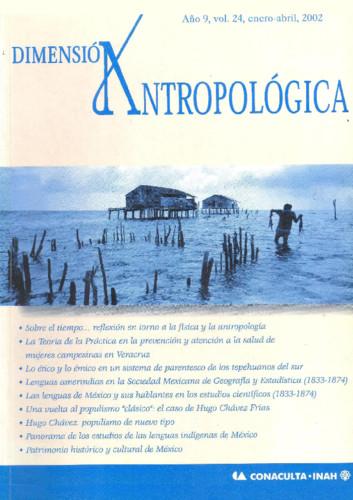 Dimensión Antropológica -  Vol. 24 (2002)
