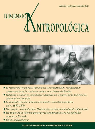 Dimensión Antropológica Vol. 64 (2015)