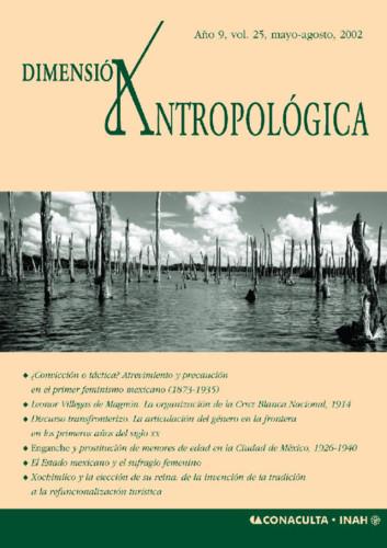 Dimensión Antropológica Vol. 25 (2002)