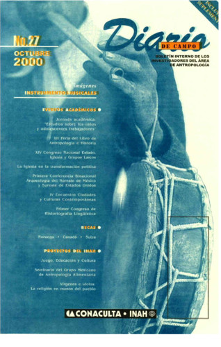 Diario de Campo - Num. 27 (2000)