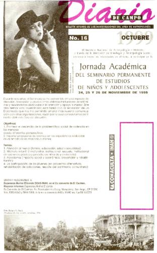 Diario de Campo - Num. 16 (1999)