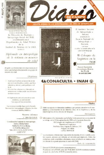 Diario de Campo - Num. 11 (1999)