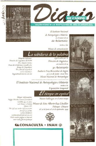 Diario de Campo - Num. 12 (1999)