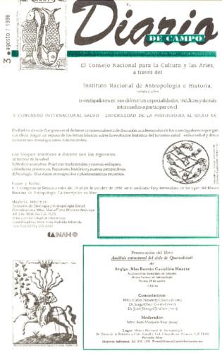 Diario de Campo - Num. 3 (1998)