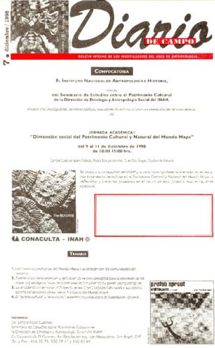 Diario de Campo - Num. 7 (1998)