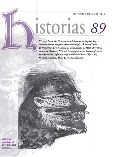 Historias Num. 89 (2014)