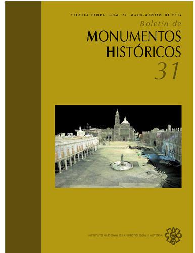 Boletín de Monumentos Históricos Núm. 31 (2014) (Tercera Época)