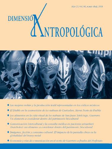Dimensión Antropológica Vol. 66 (2016)