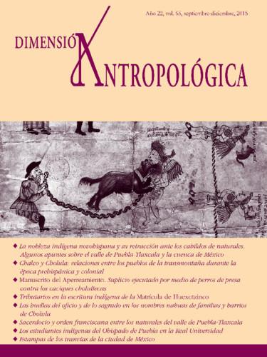 Dimensión Antropológica Vol. 65 (2015)