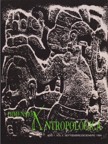 Dimensión Antropológica -  Vol. 2 (1994)