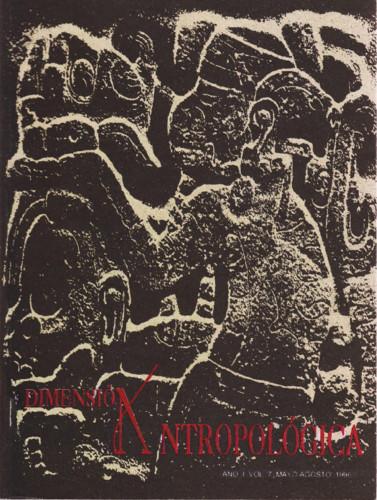 Dimensión Antropológica -  Vol. 7 (1996)