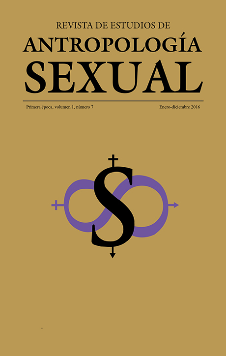 Antropología Sexual -  Vol. 1 Num. 7 (2016) Vol. 1 Num. 7 (2016)