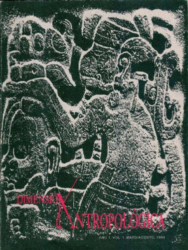 Dimensión Antropológica -  Vol. 1 (1994)