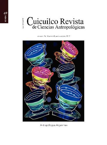 Cuicuilco Vol. 24 Num. 69 (2017) Antropólogos Argenmex