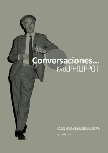 Conversaciones Num. 1 (2015) Conversaciones... con Paul Philippot
