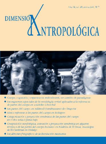 Dimensión Antropológica Vol. 69 (2017)