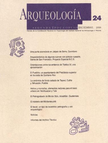 Arqueología - Num. 24 (2000) Segunda Época