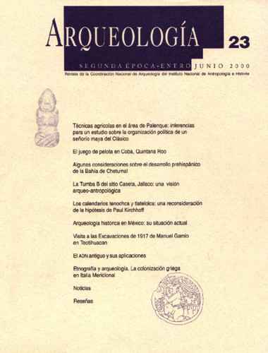Arqueología - Num. 23 (2000) Arqueología. Segunda Época
