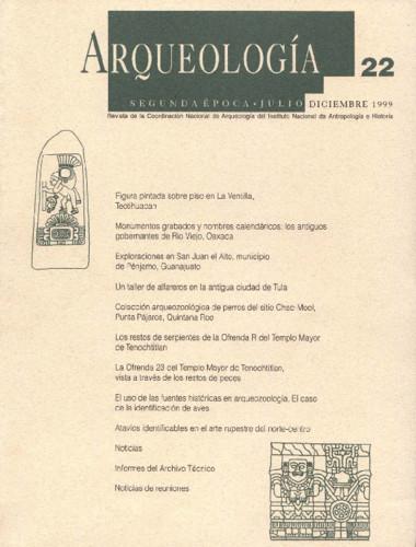 Arqueología - Num. 22 (1999) Segunda Época