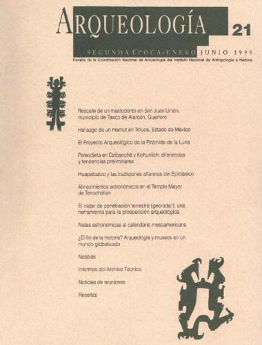 Arqueología - Num. 21 (1999) Segunda Época