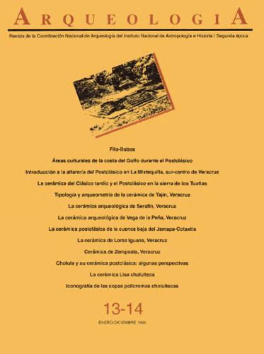 Arqueología Núm. 13-14 (1995) Segunda Época