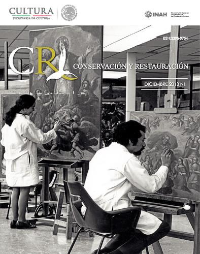 CR. Conservación y Restauración Num. 1 (2013)