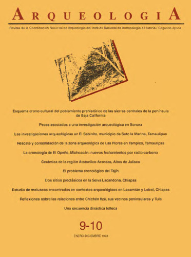 Arqueología Núm. 9-10 (1993) Segunda Época