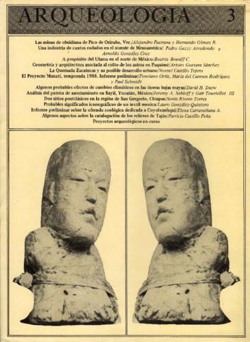 Arqueología Núm. 3 (1988)