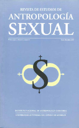Antropología Sexual - Vol. 1 Num. 1 (2005) Vol. 1 Num. 1 (2005)