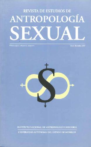 Revista de Estudios de Antropología Sexual. Vol. 1 Num. 1 (2005)