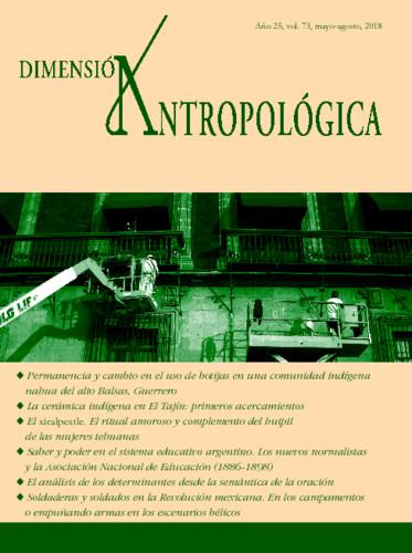 Dimensión Antropológica Vol. 73 (2018)