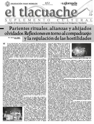 El Tlacuache Num. 652 (2014)