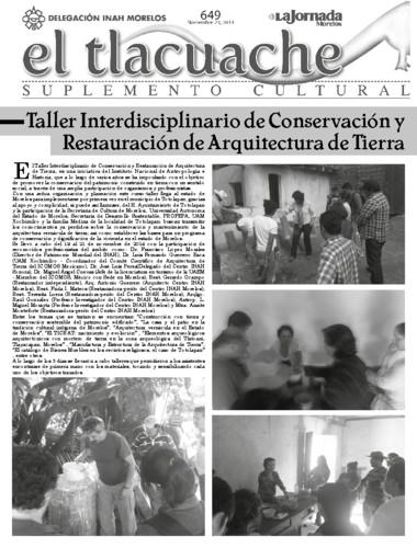 El Tlacuache Num. 649 (2014)