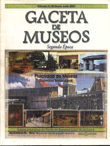 Gaceta de Museos Num. 21-22 (2001)