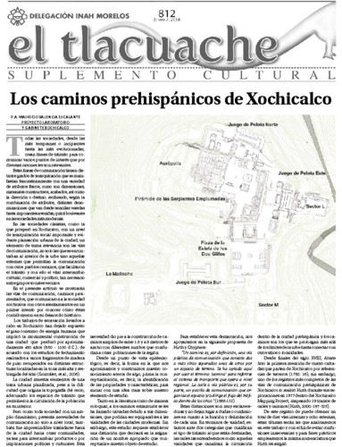 El Tlacuache Num. 812 (2019)