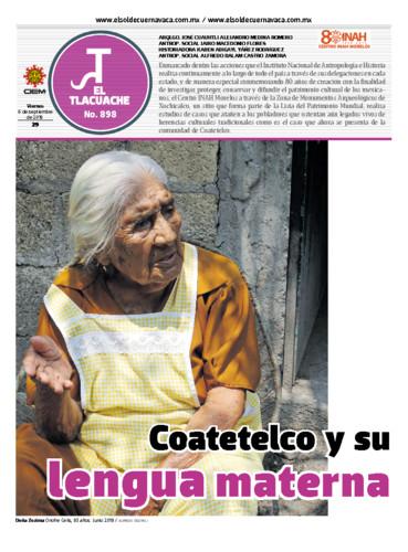 El Tlacuache Num. 898 Año (2019)