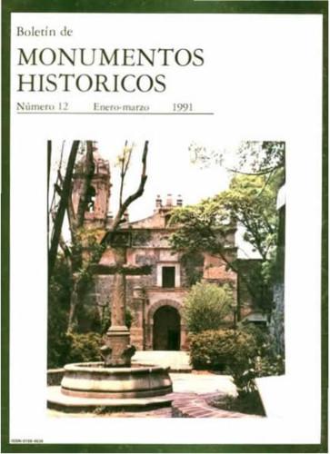Boletín de Monumentos Históricos Núm. 12 (1991) (Segunda Época)