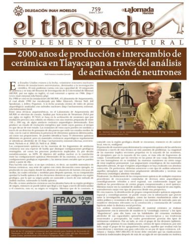 El Tlacuache Num. 759 (2017)
