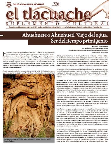 El Tlacuache Num. 776 (2017)
